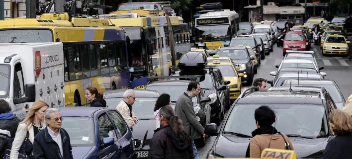 Χάος στους δρόμους της Αθήνας, μεγάλη ταλαιπωρία για οδηγούς-Live η κίνηση /Φωτογραφία Αρχείου: Ιntime News