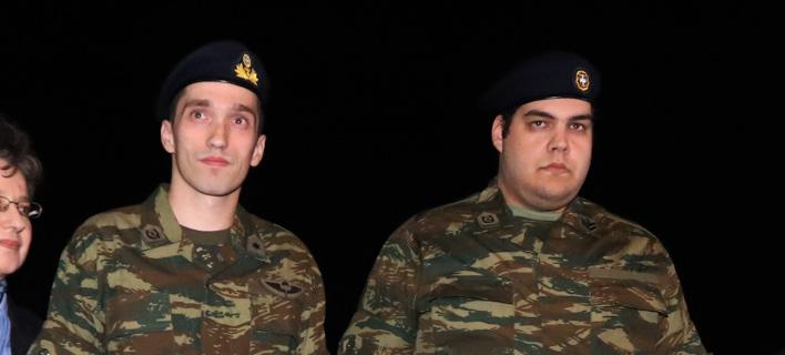 Μητρετώδης και Κούκλατζης /Φωτογραφία: Εurokinissi