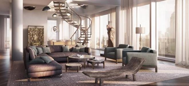 Το εξωφρενικά πολυτελές τριώροφο διαμέρισμα ενός 82χρονου μεγιστάνα στο Μανχάταν