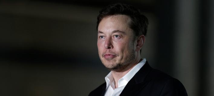 Ο ιδρυτής της Tesla και της SpaceX, Έλον Μασκ (Φωτογραφία: ΑΡ)