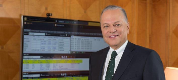 O πρόεδρος και διευθύνων σύμβουλος του Ομίλου, Ευάγγελος Μυτιληναίος