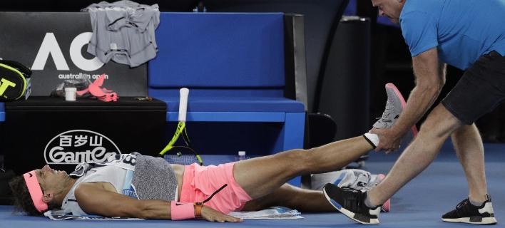Ο Ραφαέλ Ναδάλ (Φωτογραφία: AP/ Dita Alangkara)