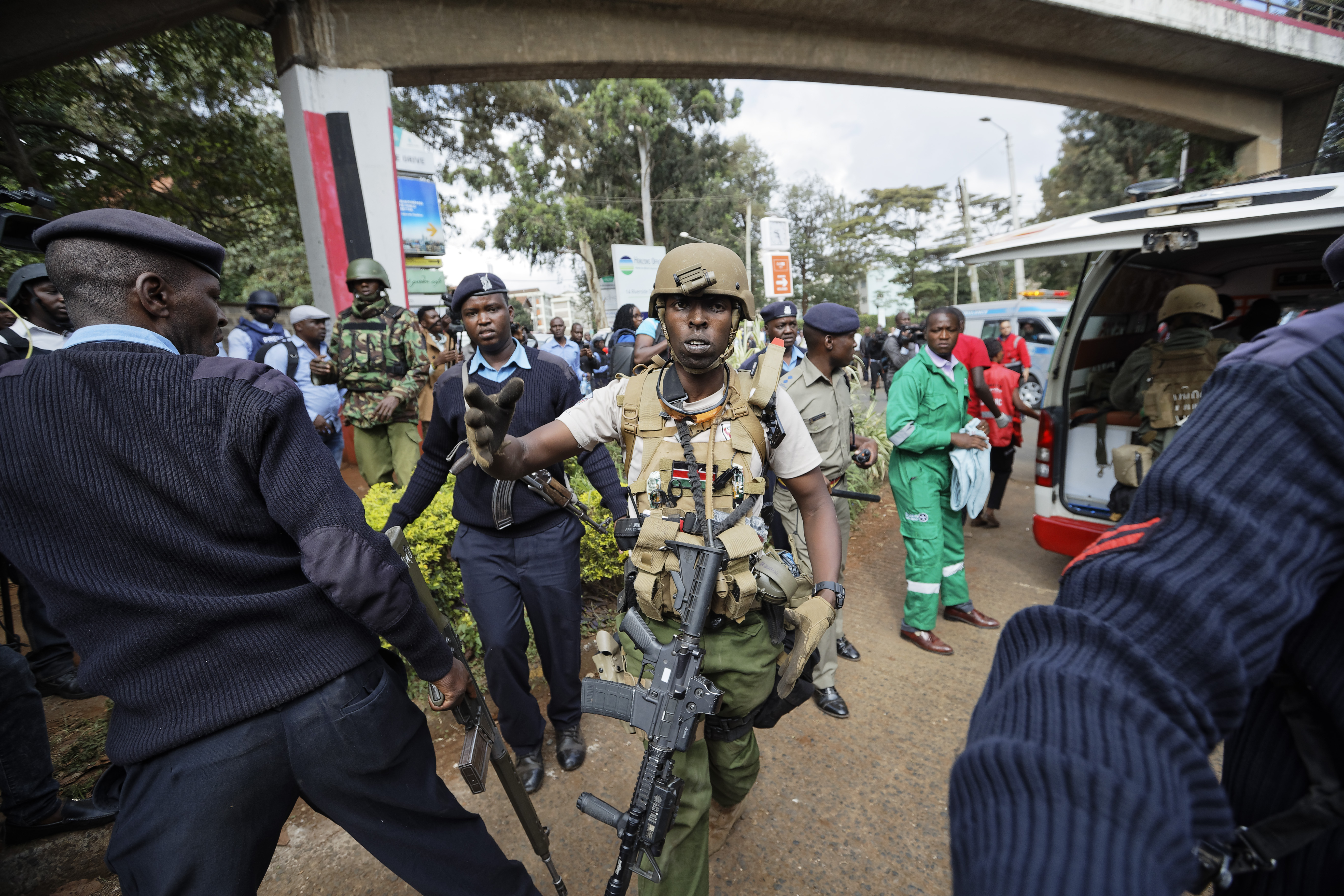 21 νεκροί από την επίθεση στο Ναϊρόμπι/ Φωτογραφία: AP- Ben Curtis