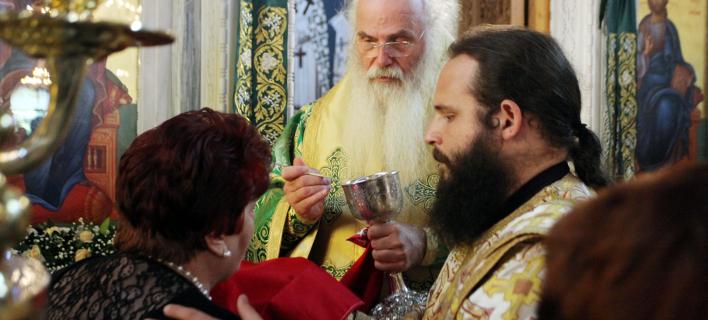 Χαρακτηριστική εικόνα από ελληνικό ναό / Φωτογραφία: EUROKINISSI