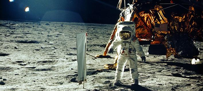 Από την αποστολή Apollo 11, της NASA, στη Σελήνη / Φωτογραφία: history.nasa.gov