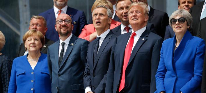 Ηγέτες του ΝΑΤΟ/ Φωτογραφία AP images