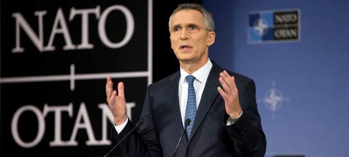 Ο επικεφαλής του ΝΑΤΟ, Γενς Στόλτενμπεργκ / Φωτογραφία: ΑΡ