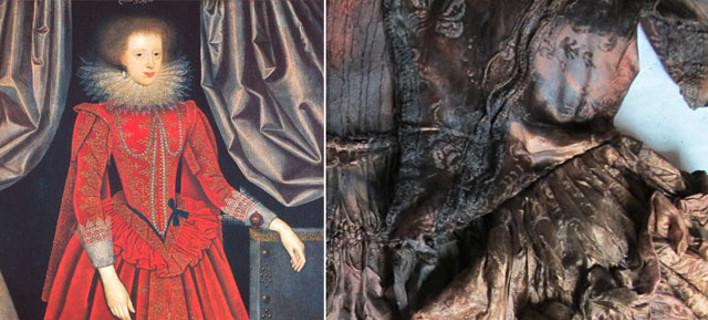 Πολυτελή ενδύματα 400 ετών βρέθηκαν άθικτα σε ναυάγιο [εικόνες]