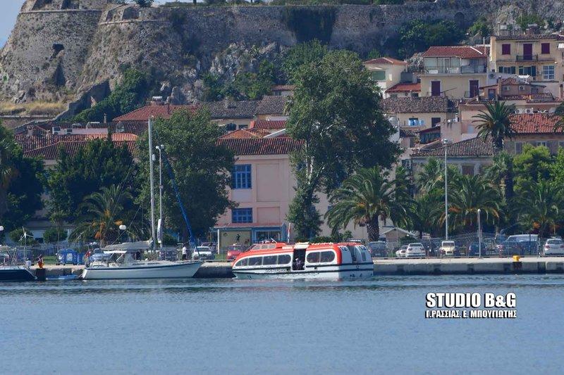 Το εντυπωσιακό κρουαζιερόπλοιο που κατέπλευσε στο Ναύπλιο