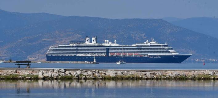 Oosterdam: Το εντυπωσιακό κρουαζιερόπλοιο που κατέπλευσε στο Ναύπλιο [εικόνες & βίντεο]
