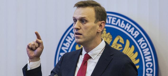 Ο Αλεξέι Ναβάλνι (Φωτογραφία: AP/ Evgeny Feldman)