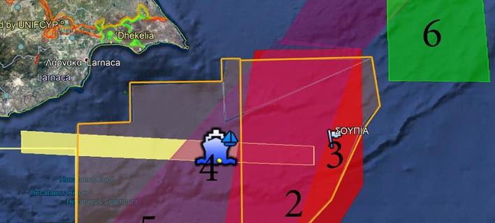 Κυπριακή Navtex για άσκηση με πραγματικά πυρά στο «3» της ΑΟΖ -Δίπλα σε τουρκική άσκηση