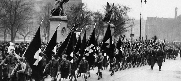 Η νεολαία του Χίτλερ παρελαύνει (1933)/Φωτογραφία: AP