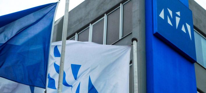 Τα γραφεία της Νέας Δημοκρατίας (Φωτογραφία: EUROKINISSI/ΓΙΩΡΓΟΣ ΚΟΝΤΑΡΙΝΗΣ)