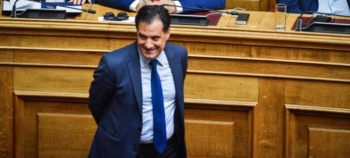 Ο Αδωνις Γεωργιάδης /Φωτογραφία: Εurokinissi