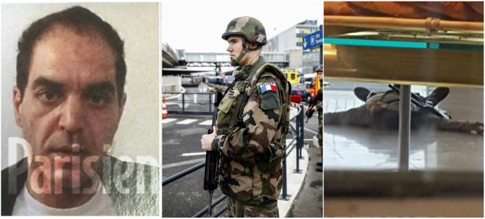 Γαλλία: «Είμαι εδώ για να πεθάνω για τον Αλλάχ» φώναξε ο δράστης της επίθεσης στο αεροδρόμιο Ορλί