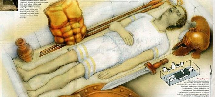 Αυτός είναι ο νεκρός της Αμφίπολης -Πώς θα έμοιαζε