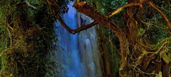 Σκηνικό βγαλμένο από παραμύθι στην Ηλεία -Οι καταρράκτες της Νεμούτας [εικόνες]