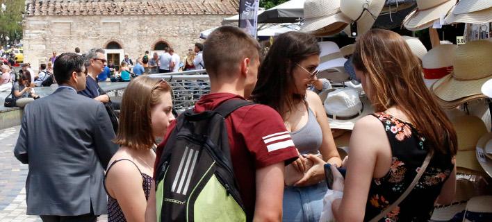 Ναι στην Ευρώπη, λένε οι νέοι αλλα είναι δύσπιστοι απέναντι στους θεσμούς/Φωτογραφία: Eurokinissi