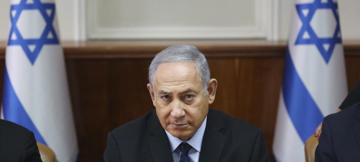Ο Βενιαμίν Νετανιάχου/ Φωτογραφία: AP- Oded Balilty