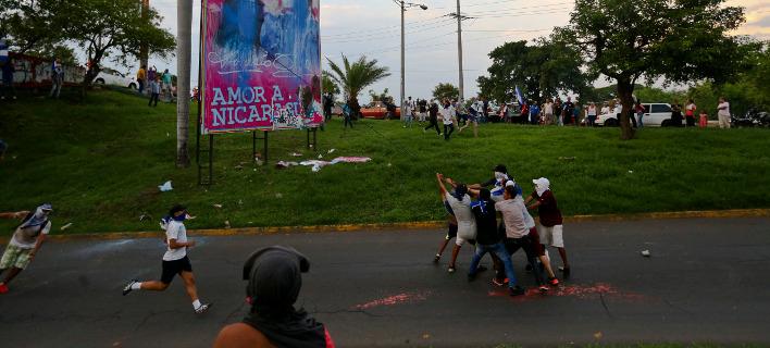Διαδηλώσεις Νικαράγουα/ Φωτογραφία AP images