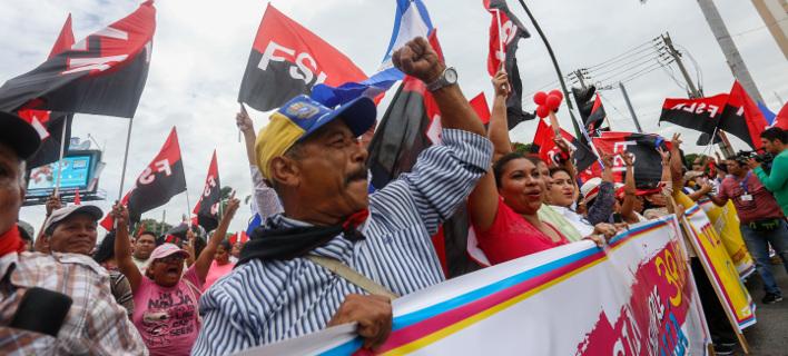 Αντικυβερνητικές διαδηλώσεις στη Νικαράγουα/ Φωτογραφία AP images