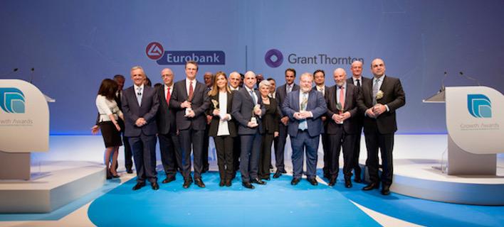 Eurobank: Απονεμήθηκαν τα βραβεία Growth Awards 2018 -Οι έξι εταιρείες που βραβεύτηκαν [βίντεο]