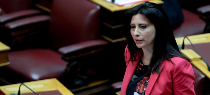Η βουλευτής του ΣΥΡΙΖΑ, Νίνα Κασιμάτη -Φωτογραφία: Intimenews/ΚΩΤΣΙΑΡΗΣ ΓΙΑΝΝΗΣ