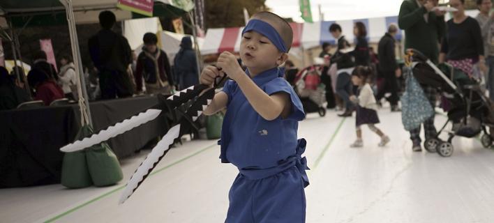 Ψάχνουν νέους νίντζα στην Ιαπωνία (Φωτογραφία: AP/ Eugene Hoshiko)