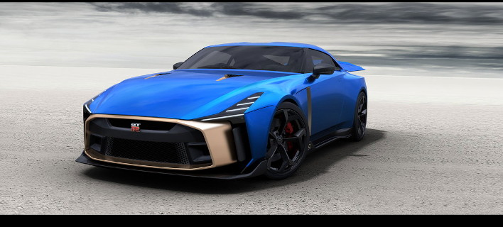 Το Nissan GT-R50 από την Italdesign