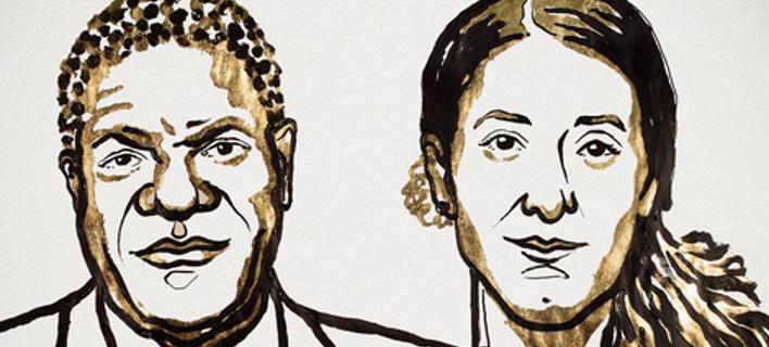 Το Νόμπελ Ειρήνης στον Ντένις Μουκουέγκε και τη Νάντια Μουράντ