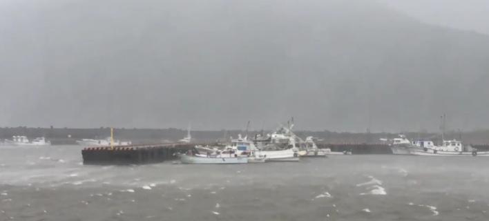 Ιαπωνία: Φονικό το πέρασμα του τυφώνα Νόρου -Δύο νεκροί και 47 τραυματίες [βίντεο]