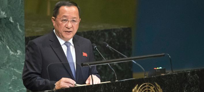 O επικεφαλής της βορειοκορεάτικης διπλωματίας/ Φωτογραφία: AP