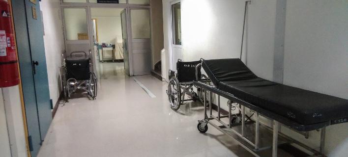 Διάδρομος δημόσιου νοσοκομείου/Φωτογραφία: Eurokinissi