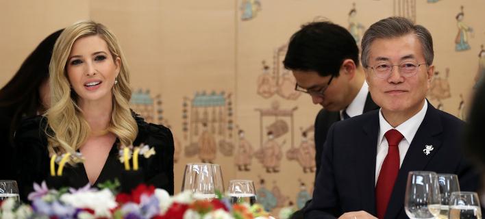 Φωτογραφία: Στη Νότια Κορέα η Ιβάνκα Τραμπ/AP