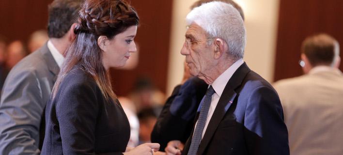 Η Κατερίνα Νοτοπούλου & ο Γιάννης Μπουτάρης (Φωτογραφία: IntimeNews/ΤΟΣΙΔΗΣ ΔΗΜΗΤΡΗΣ)