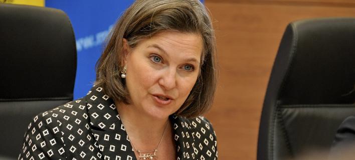 Στην Ειδομένη η Βικτόρια Νούλαντ -Η υφυπουργός Εξωτερικών των ΗΠΑ [εικόνα]