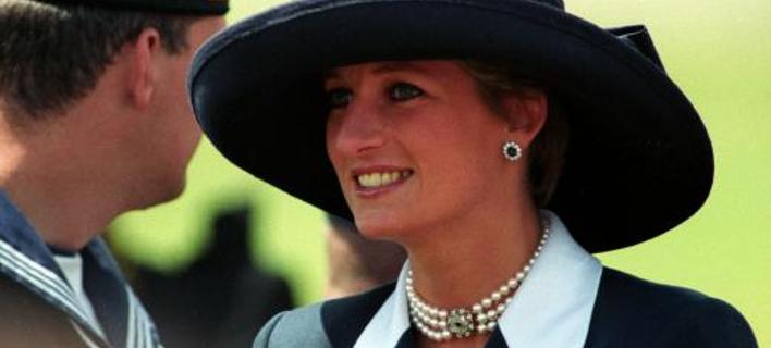 Η Πριγκίπισσα Νταϊάνα στην 50ή επέτειο της D-Day στο Λονδίνο