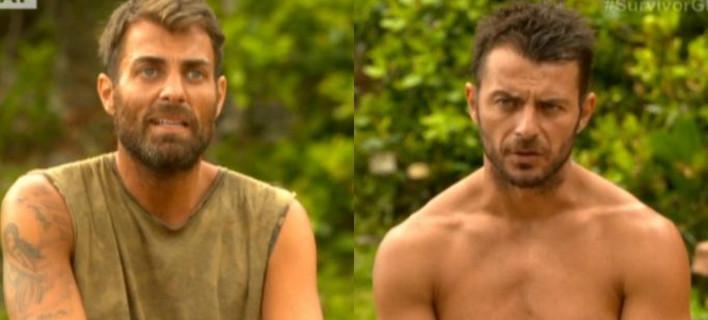 Survivor: Ντάνος και Σπαλιάρας μίλησαν για το κρυφό φαγητό - Τι αποκάλυψε ο Χανταμπάκης [βίντεο]