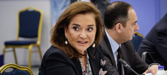 Ντόρα Μπακογιάννη, Φωτογραφία: Eurokinissi/ΓΙΑΝΝΗΣ ΠΑΝΑΓΟΠΟΥΛΟΣ