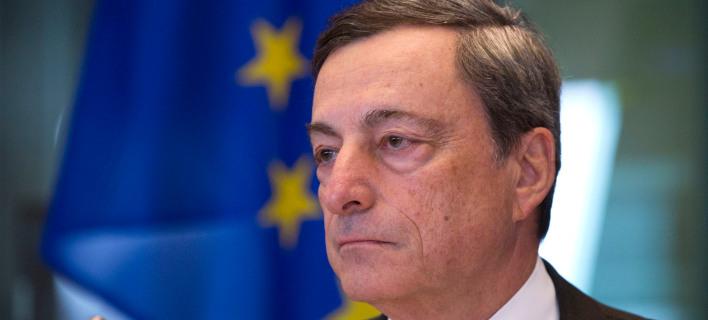 Ο πρόεδρος της ΕΚΤ, Μάριο Ντράγκι/Φωτογραφία: AP