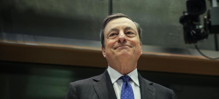 Ο επικεφαλής της ΕΚΤ, Μάριο Ντράγκι/Φωτογραφία: ΑΡ