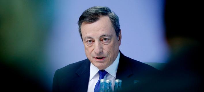 Ο επικεφαλής της Ευρωπαϊκής Κεντρικής Τράπεζας, Μάριο Ντράγκι/Φωτογραφία: AP