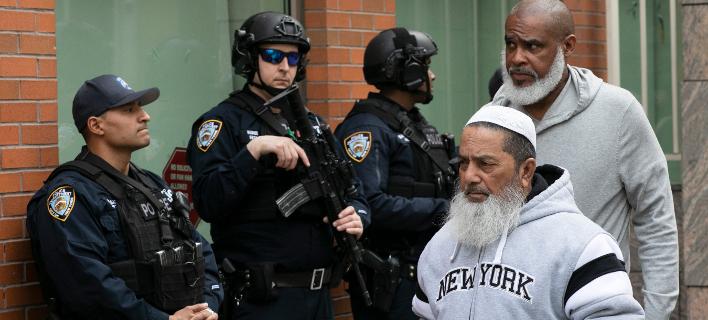 Αυξάνονται τα μέτρα ασφαλείας σε τζαμιά στις ΗΠΑ (Φωτο: ΑΡ)