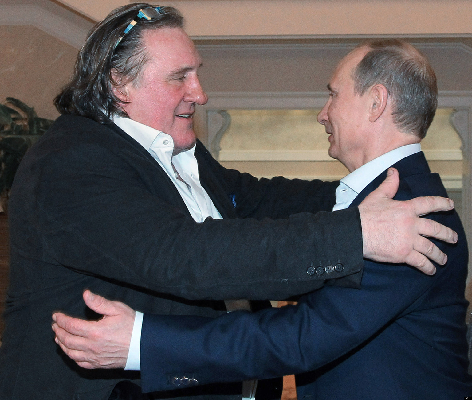 Με τον φίλο του Βλαντιμίρ Πούτιν