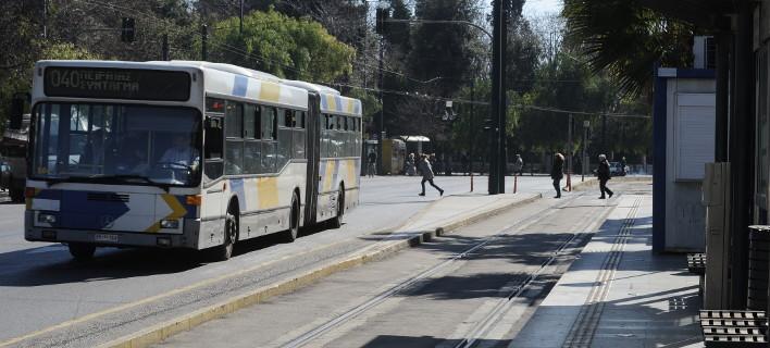 Τα δρομολόγια σε λεωφορεία, τρόλεϊ, τραμ και μετρό την παραμονή του Δεκαπενταύγουστου/ Φωτογραφία: Μπόλαρη Τατιάνα/ Eurokinissi