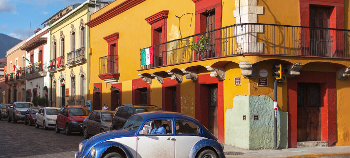 Οαχάκα, η χρωματιστή πόλη του Μεξικό στο National Geographic για τους προορισμούς του 2018 (Φωτογραφία: Shutterstock)