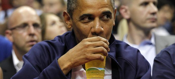 Λάτρης της μπίρας ο Μπαράκ Ομπάμα. Φωτογραφία: AP