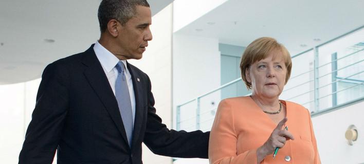 Συνάντηση Ομπάμα-Μέρκελ για την ελληνική κρίση