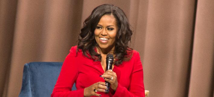 Η Μισέλ Ομπάμα (Φωτογραφία: Owen Sweeney/Invision/AP)